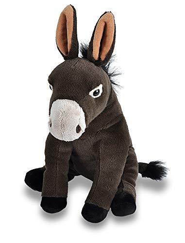 "Wild Republic Mule Plush, Stuffed Animal, Plush Toy, Gifts for Kids, Cuddlekins 12"""