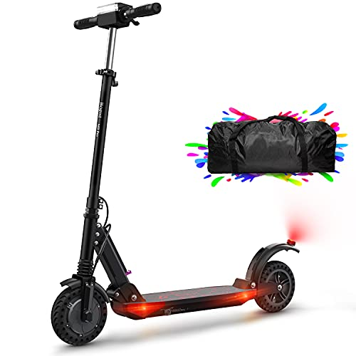 Elektroscooter Erwachsene E Roller 30km Elektroroller 350W E Roller Faltbarer Elektroroller E Tretroller Elektro Roller, 8\'\' Wabenreifen E Scooter klappbar (Schwarz)