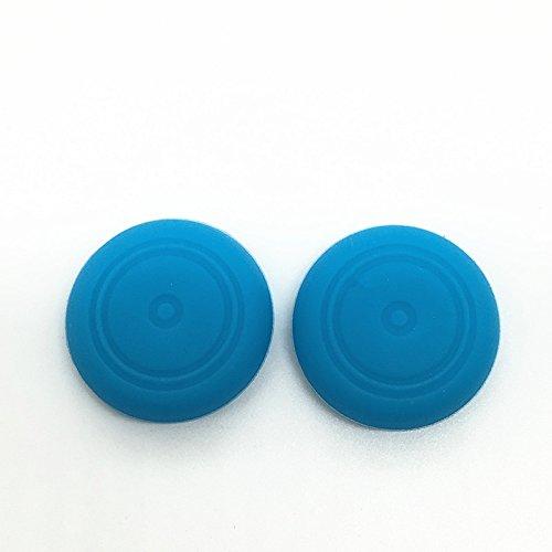 Meijunter 1 Pair Thumb Stick Analog Joystick Grip Caps Cover Molette poignée tête boîtier pour Nintendo Switch NS NX Joy-Con Color Blue
