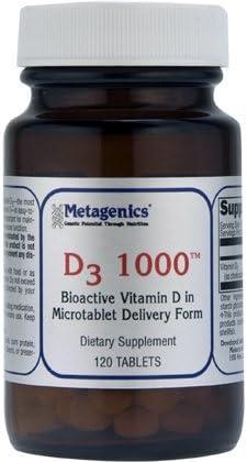 Metagenics D3 1000 product image