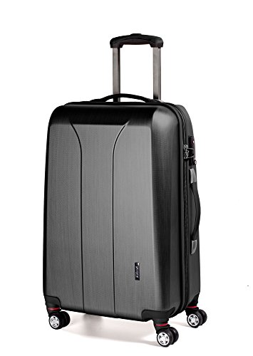 March 15 Trading New Carat 4-Rollen-Trolley 75 cm Black Brushed