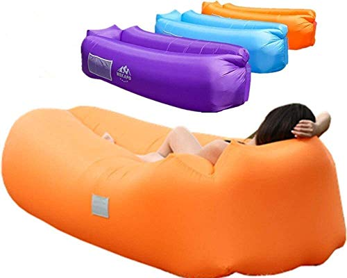 WEKAPO Inflatable Lounger Air Sofa Hammock-Portable,Water Proof& Anti-Air Leaking Design-Ideal Couch for...