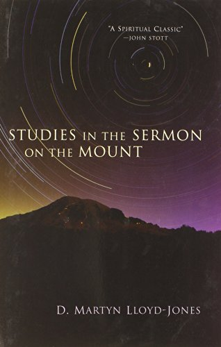 Best studies on the sermon on the mount for 2020