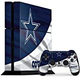 Skinit Decal Gaming Skin Compatible with PS4 Console and Controller Bundle - Officially Licensed NFL Dallas Cowboys Design
