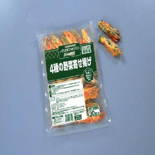 味の素 4種の野菜寄せ揚げ 25g×30個  お得5袋セット