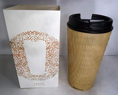 Nespresso TOUCH Travel Mug Holzoptik