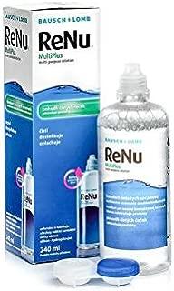 Bausch & Lomb ReNu Contact Lens Solution - 240 ml