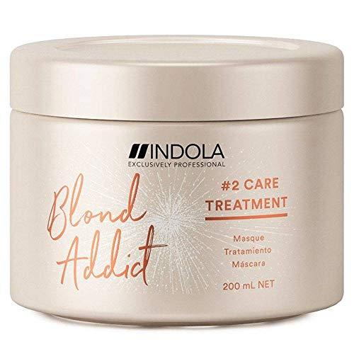 Indola Innova Blond Addict #2 Care Treatment Masque Cheveux blonds 200ml
