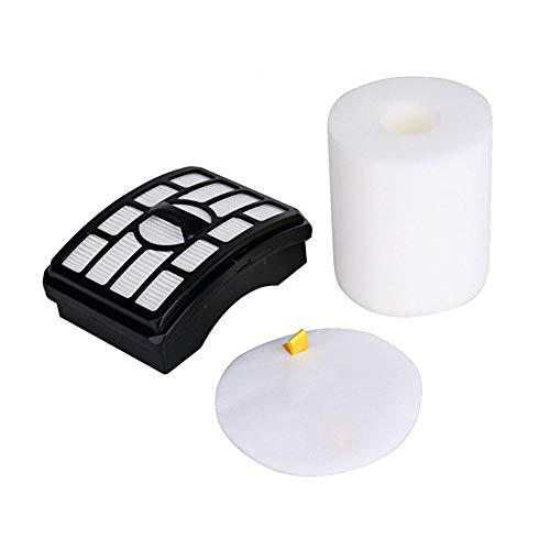 JIAMIN Autres accessoires 2pcs Kit de filtres pour aspirateur vertical Shark Rotator NV500 Series XHF500 XFF500