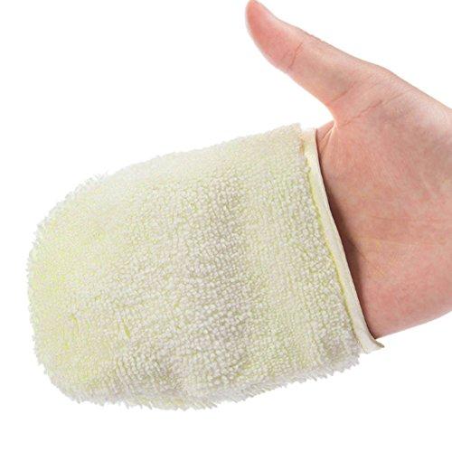 Cara guantes limpieza facial Exfoliante Guante Limpieza