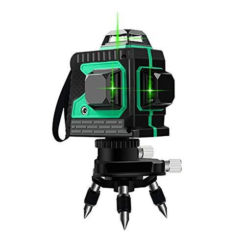 WN-PZF Laserebene + Stativ, Automatische Nivellierung 8 Laserstufe Mit Grünem Strahl, Horizontaler Laser/Vertikaler Laser/Neigungslaser, Für Die Innenausstattung des Bodens