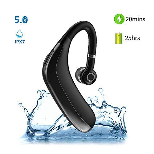 Bluetooth-Lautsprecher mit Spiegeluhr,Drahtlos Tragbar,Bluetooth 5.0,Bass-Stereo in Hoher Klangqualität,AUX/TF,22 Stunden Musik Hören,Zeit und Temperatur Anzeigen