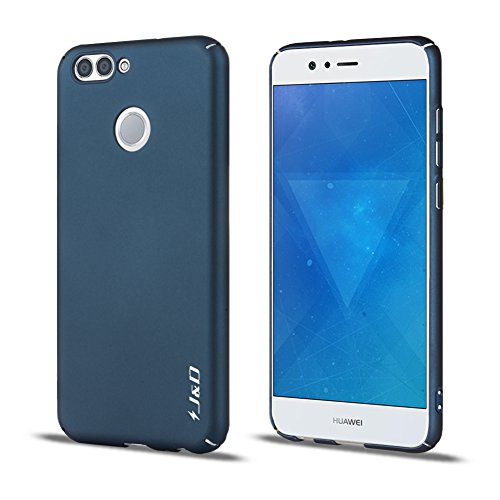 JundD Kompatibel für Huawei Nova 2 Hülle, [Ultra Dünn] [Lightweight] erstklassige Matte schützende Hardcase für Huawei Nova 2 - Dunkelblau