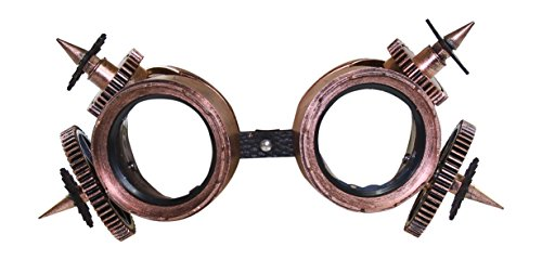 Price comparison product image KAYSO INC The Machinist Victorian Steampunk Googles (Vintage Bronze)