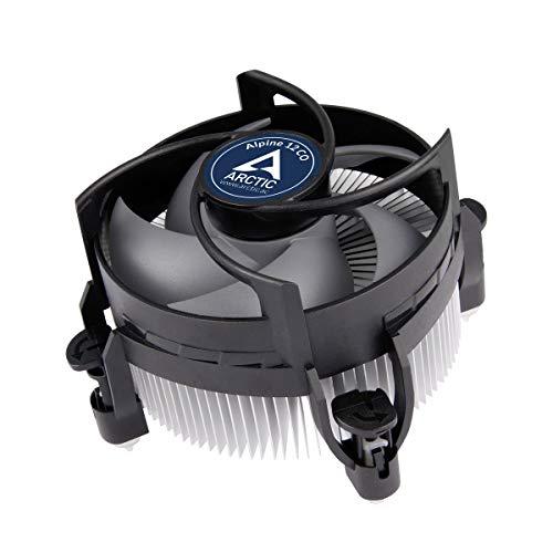 ARCTIC Alpine 12 CO - CPU Kühler für Intel Sockel für Dauerbetrieb, durch 92 mm PWM Lüfter bis zu 100 Watt Kühlleistung, voraufgetragene MX-2 Wärmeleitpaste, einfaches Montagesystem