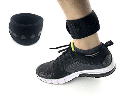 CAREOR Verstellbarer Arm & Knöchel Running Band Armband Band mit Schnalle und Mesh Tasche für Garmin & Fitbit One/Fitbit Flex 2/Fitbit Alta/Alta HR Fitness Tracker Armband