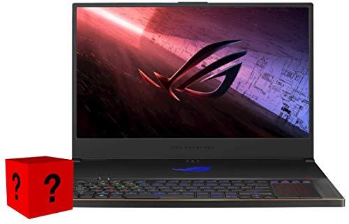 XPC ROG Zephyrus S17 Gamer Notebook 17.3' 300 Hz Intel Core i7 10th Gen 10750H GeForce RTX 2070 Super 40 GB DDR4 Memory 2x2 TB 970 EVO Plus NVMe SSD Windows 10 Pro Gaming Laptop