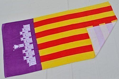 Badetuch Saunatuch Strandtuch Deutschland Bayern Mallorca Spanien Zielflagge (Mallorca)