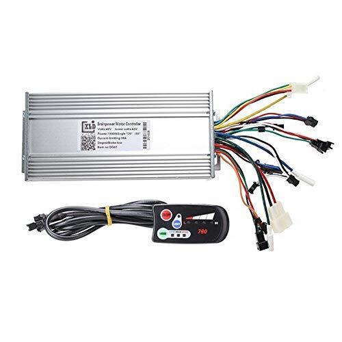 GNY Controlador del Motor 36V / 48V 500W / 600W Modo Dual Modo GALVANIZACIÓN BICICLETOR con EL Controlador con EL Panel DE Control 790 LED Controlador de Velocidad de Motocicleta