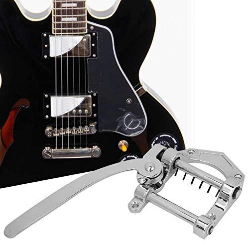 Sistema de tremolo de guitarra eléctrica sólida para cualquier técnico de guitarra para guitarra eléctrica (plata)