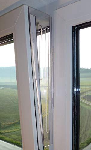 Kittyrotect premium, Kippfensterschutz aus Acrylglas, transparent
