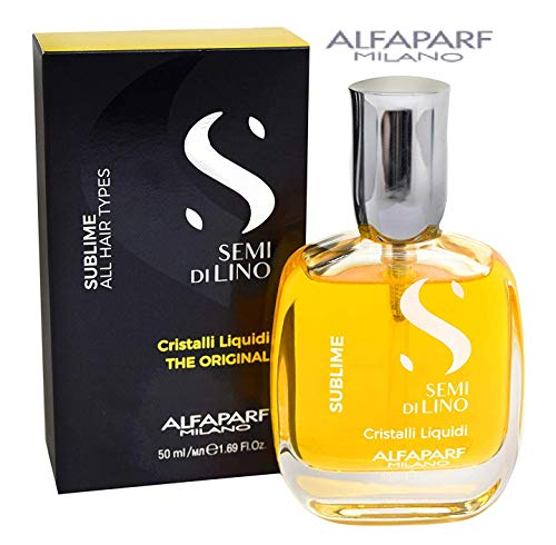 Alfaparf Semi Di Lino Diamond Cristalli Liquidi Instant Illuminating Serum 50ml 1.69oz by AlfaParf