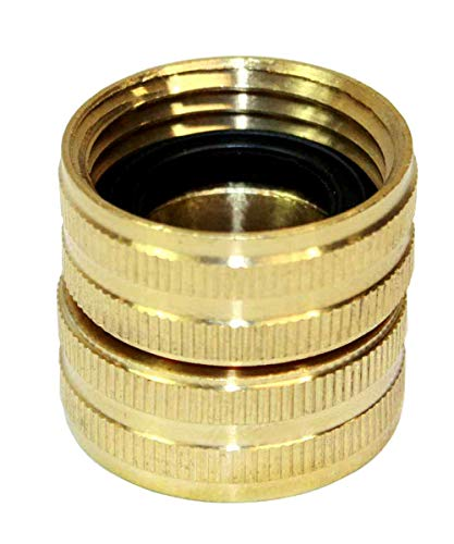 """3/4"""" GHT Female x 3/4"""" GHT Female Water Hose Swivel Fitting Hose Connector Hose Adapter Super-Deals-Shop"""