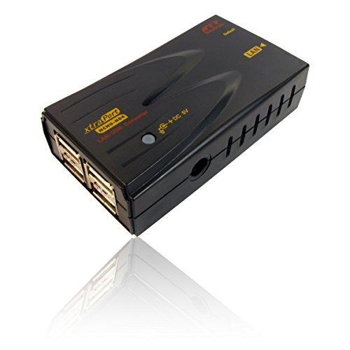 4-poorts USB LAN Server Printer Server