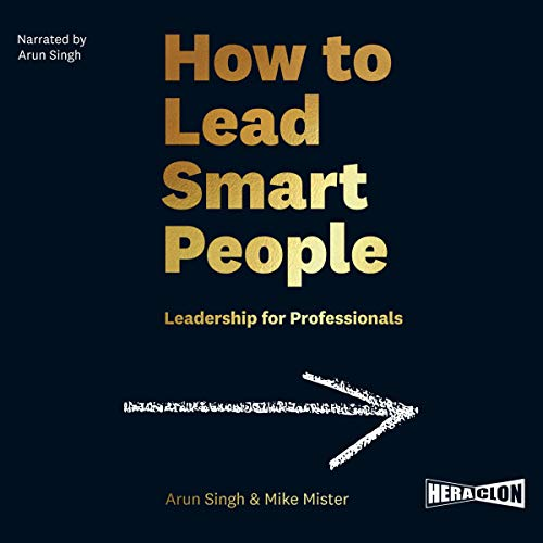 How to Lead Smart People audiobook cover art
