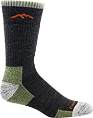 MIDWEIGHT WITH CUSHION — A warm and extremely comfortable choice when conditions demand it, this fine gauge knitted sock provides mid-level cushion density under your foot. True Seamless technology allows for an undetectable seam fusion for an ultra-...