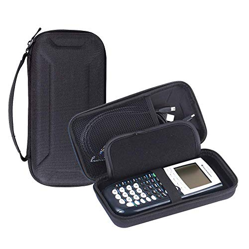 LuckyNV Protective Travel Case Bag Box for Texas Instruments TI-84 Plus / TI-84 Plus CE / TI-83 Plus / TI-89 / Casio PRIZM / FX-9750GII and More Graphing Calculator