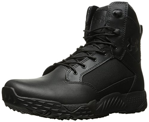 Under Armour Women's Stellar Military and Tactical Boot, Black (001)/Black, 8.5
