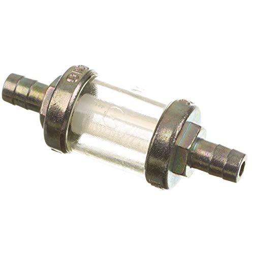 Benzinfilter (Kraftstofffilter) 8mm massive Metallausführung (Leitungsfilter) Simson+MZ ETZ & TS