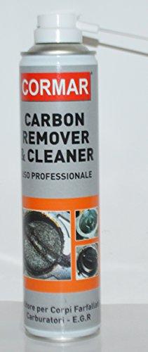 Pulitore Solvente EGR iniettori carburatori CARBON REMOVER & CLEANER CORMAR