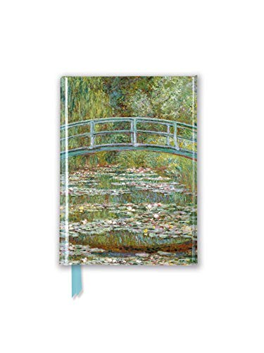 Claude Monet: Bridge Over a Pond of Water-Lilies (Foiled Pocket Journal) (Flame Tree Pocket