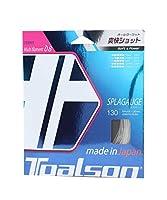 トアルソン(TOALSON) テニスガット スプラゲージ 130(ホワイト) 単張りガット 7483010W 0 0
