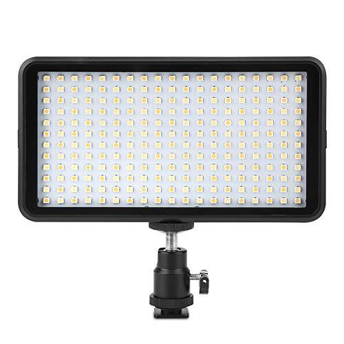 WYLZLIY-Home Luces de relleno regulables Juego de lámpara de fotografía 3200-6000K LED de luz de vídeo para casi cualquier cámara digital SLR y videocámara