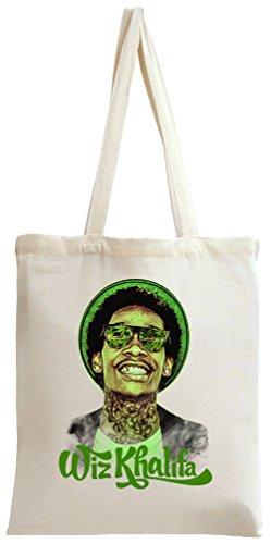 Wiz Khalifa Blacc Hollywood Weed Joints Blunt Smoke Tote Bag