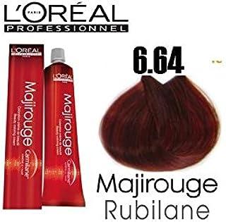 Tinte para cabello Majirouge n.° 6.64: Amazon.es: Belleza