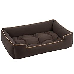 image of bolster dog sofa bed by Jax and Bones