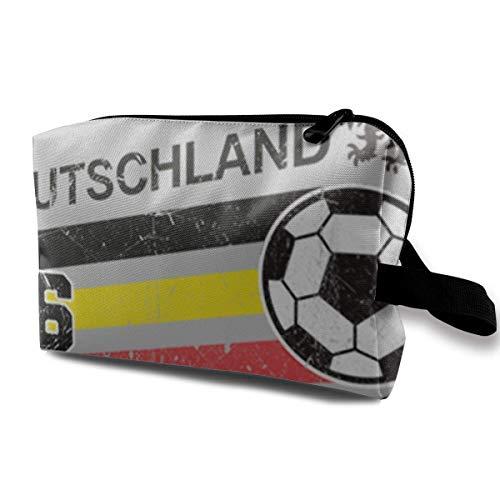 Bolsa de maquillaje para cosméticos Euro 2016 Football Alemania Alemania Alemania Deutschland...