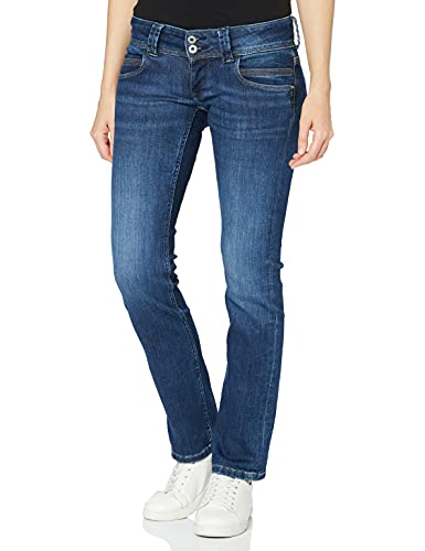 Pepe Jeans Damen Venus Jeans, Denim Dg12, 28W /32L