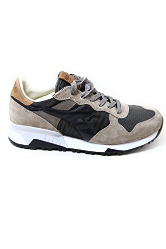 Diadora Leather/Textile Sneakers Trident 90 Nyl 100% Made in Italy EU45.5