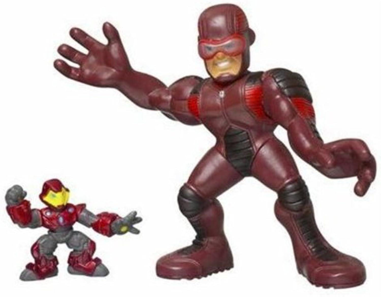 Marvel  Super Hero Squad Giant uomo e Iron uomo Mega Dimensione Pack azione cifra Set