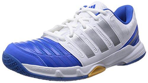 Adidas Court stabil 11 ftwwht/silvmt/broyal, Größe Adidas:5.5