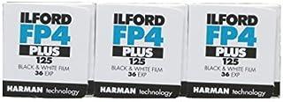 Three Pack of Ilford FP4 Plus 35mm Black & White Negative Film 36 Exp