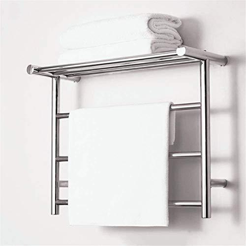 TUHFG Toallero Eléctrico Bajo Consumo Calentador de Toallas Calientes para baño, Montaje...