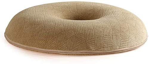 FCYQBF Chair Pads Office Chair Cushion,Memory Foam Circular Cushion Thick And Breathable Cushion Relieve Tail Pain Postoperative Hemorrhoid Cushion