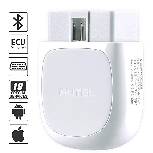 Autel AP200 obd2 codeleser mit Bluetooth, Motor ABS SRS fehlercode auslesen und löschen.Öl/ EPB/ DPF zurücksetzen usw (Heimwerker-Version des MK808,mehrere Funktionen als andere Bluetooth obd2)