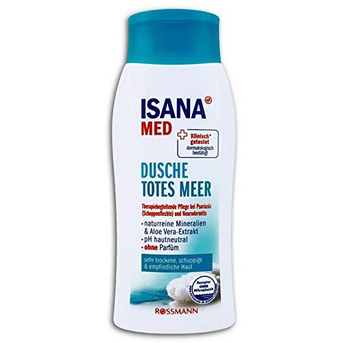 ISANA Med Dusche Totes Meer - Duschgel mit naturreinen Mineralien u. Aloe Vera - Extrakt
